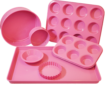 view Pink Bakeware products