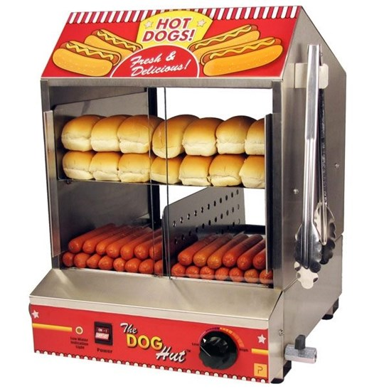 additional image for Hot Dog Steamer with 120 Free Bockwurst Hotdogs!