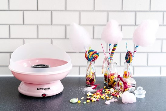 additional image for Candy Floss Maker with Sugar and cones