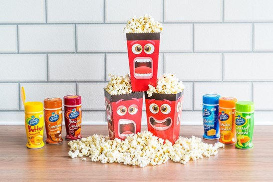additional image for Fun Movie Face Popcorn Box - Pack of 8 Popcorn Boxes