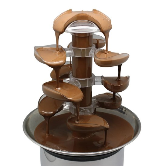 additional image for NEW Cascade Chocolate Fountain for the Home