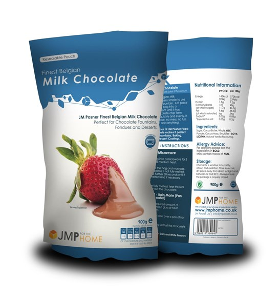 additional image for 3 x Finest Belgian Milk Chocolate Bags - 900g Value Pack