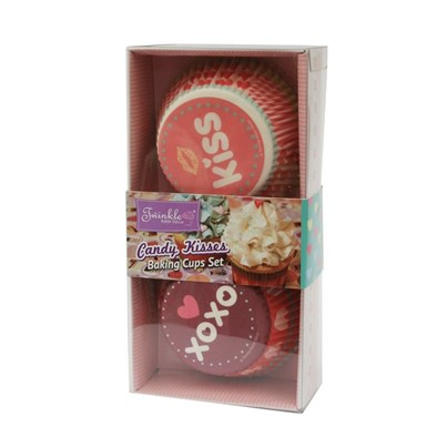 Twinkle Baker Decor Candy Kisses Baking Cup Set
