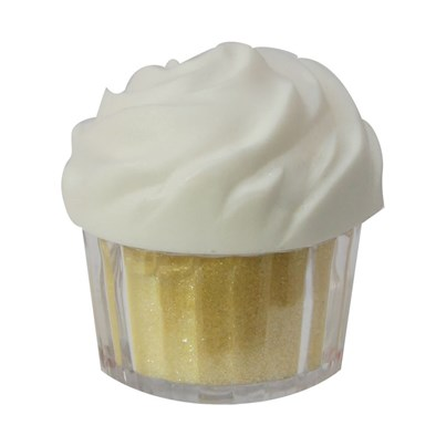 Twinkle Baker Decor Yellow Edible Glitter