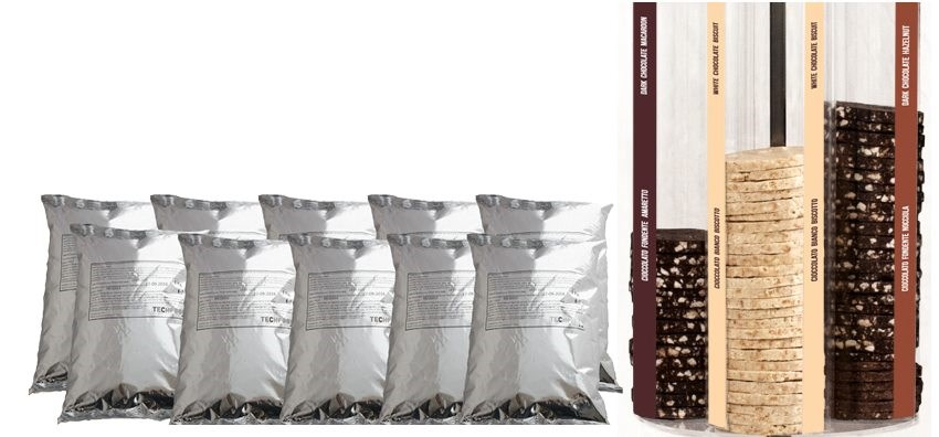 Techfood The Choco Burger Refill Kit - 10kg Bun Mix and 120 Choco Burgers