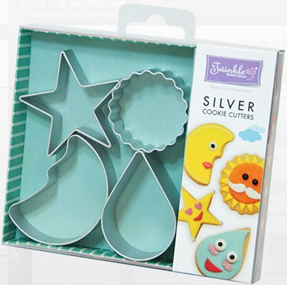 Twinkle Baker Decor Universe Cookie Cutter Set