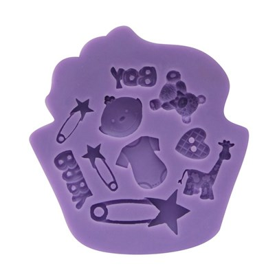 Twinkle Baker Decor Baby Boy Silicone Mold