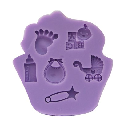 Twinkle Baker Decor Baby Shower Silicone Mold
