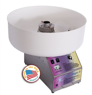 JM Posner Spin Magic Cotton Candy Machine - with plastic bowl