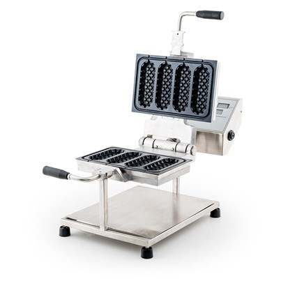 JM Posner New Automatic Stuffed Waffle Maker - Create 4 Stuffed Waffles in Minutes
