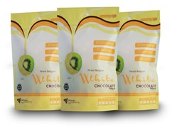 3 X Finest Belgian White Chocolate Bags - 900g Value Pack