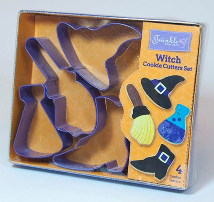 Twinkle Baker Decor Witch Cookie Cutter Set