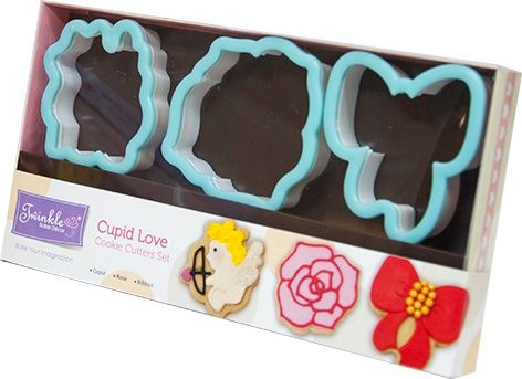 Twinkle Baker Decor Cupid Love Cookie Cutter Set