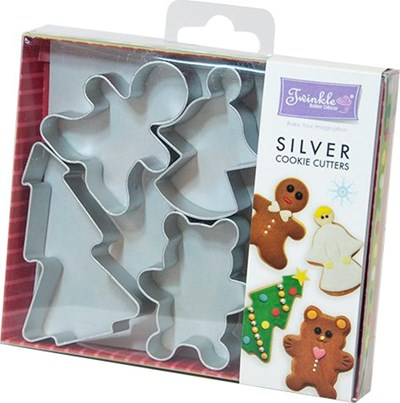 Twinkle Baker Decor Silent Night Cookie Cutter Set