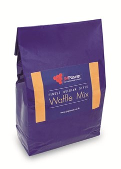 Finest Belgium style Waffle mix case 6 x 2.3 kg bags