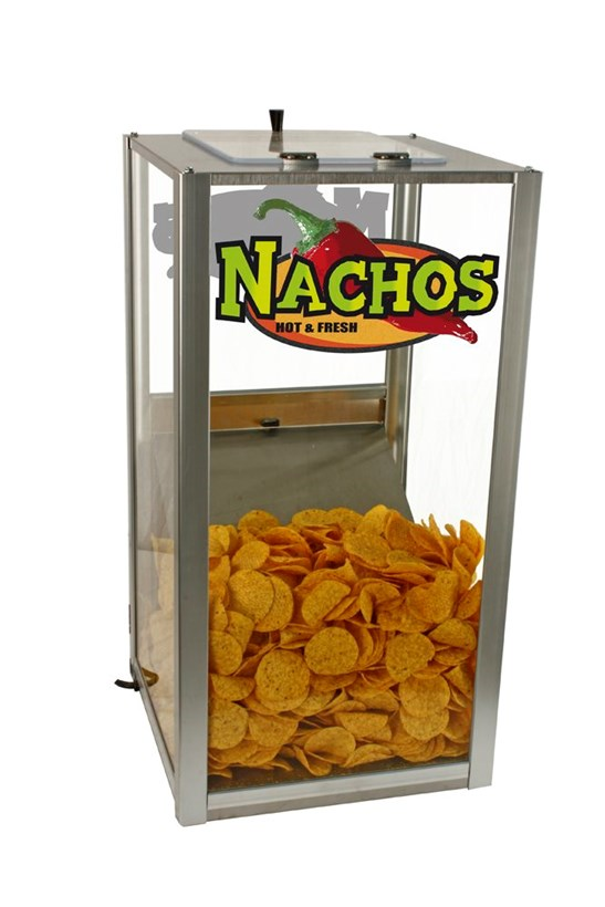 113 litre Nacho Display Warmer - 113 litre capacity