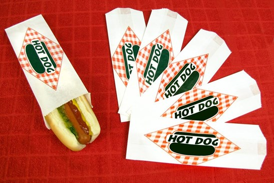 Hot Dog Paper Bag x 1000