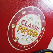 additional image for 8oz Classic Popcorn Maker Top & Cart