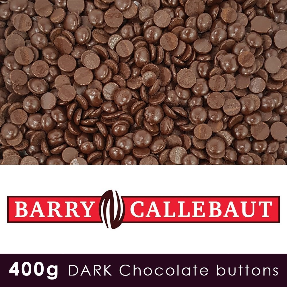 Finest Belgian Dark Chocolate 400g Pouch - 70.5 % Cocoa Solids