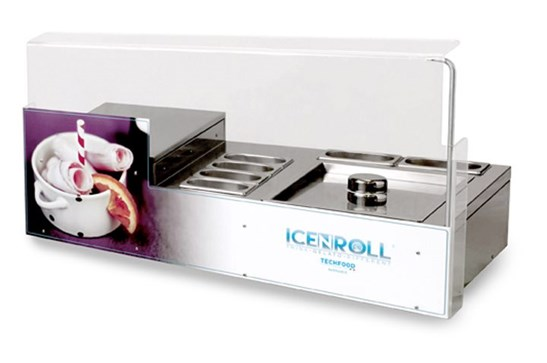 The Ice N Roll Machine with 15KG Cream & Sorbet Mix