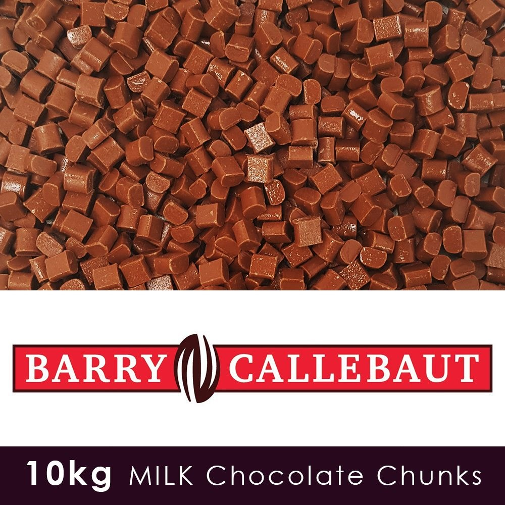 Luxury Milk Chocolate Chunks -10 KG Case