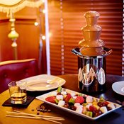 additional image for Gold Battery Operated Tabletop Chocolate Fountain