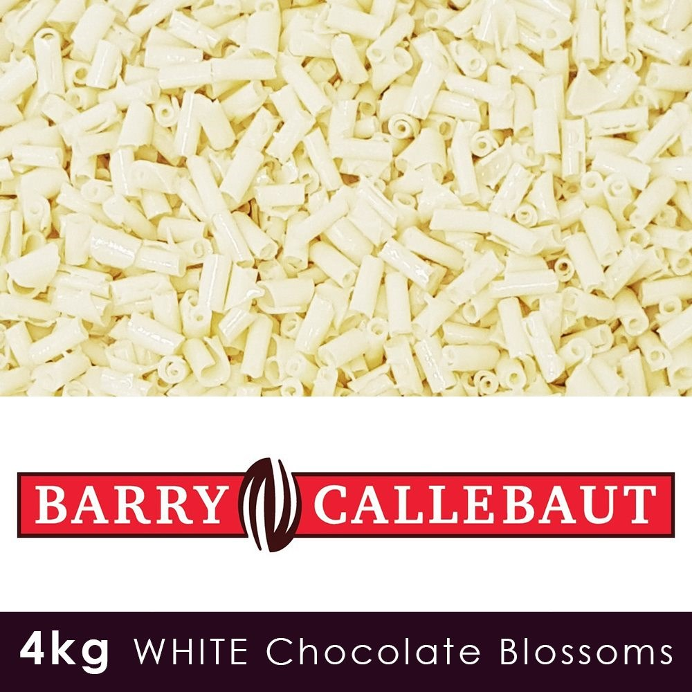 Luxury White Chocolate Blossoms - 4KG Case