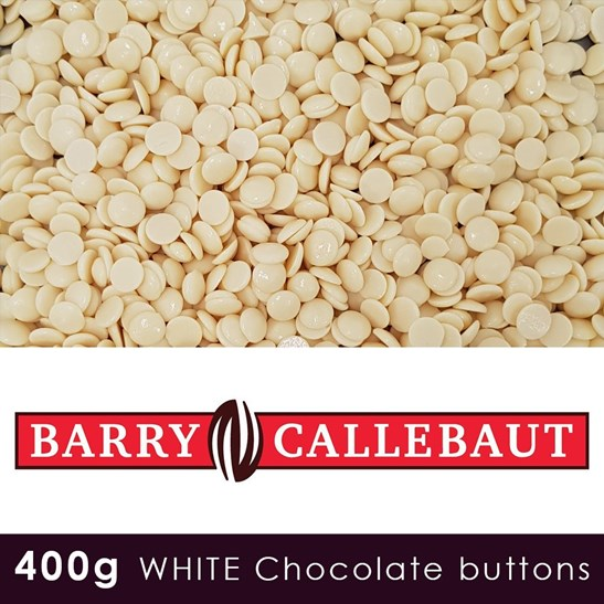 additional image for Callebaut Finest Belgian White Chocolate - 400g Pouch