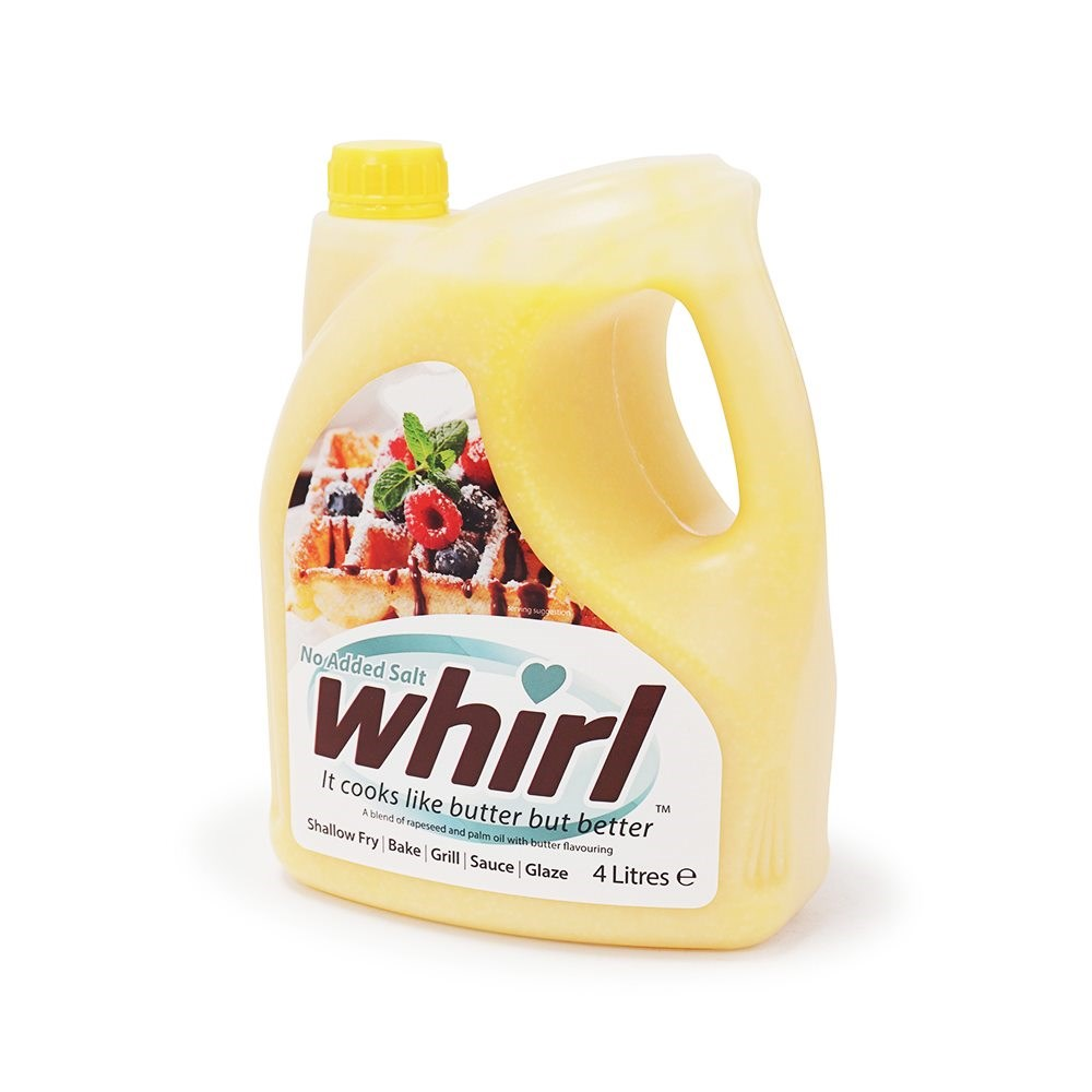 Butter Whirl Light - No Added Salt - 4 Litre