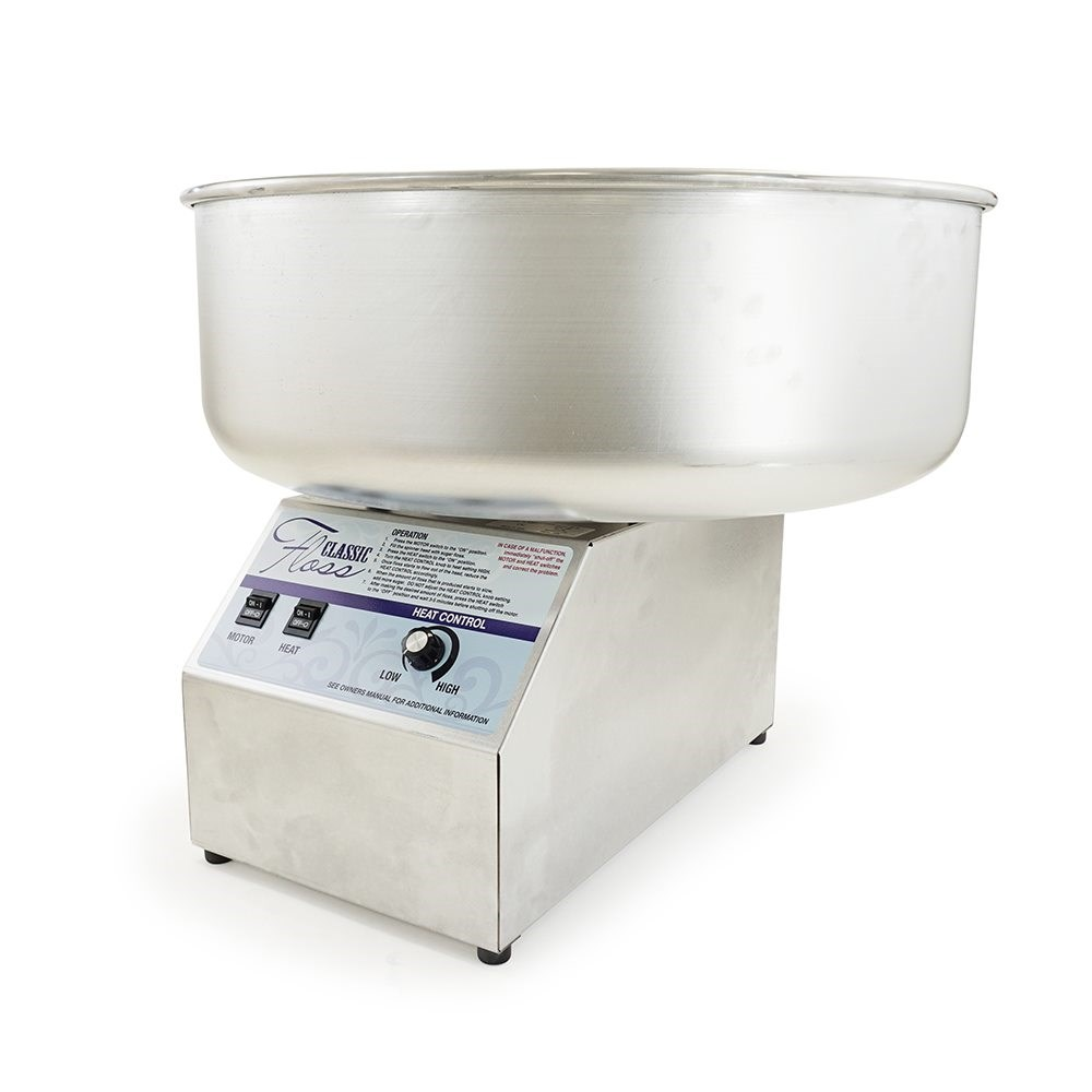 Classic Floss Cotton Candy Machine - with metal bowl