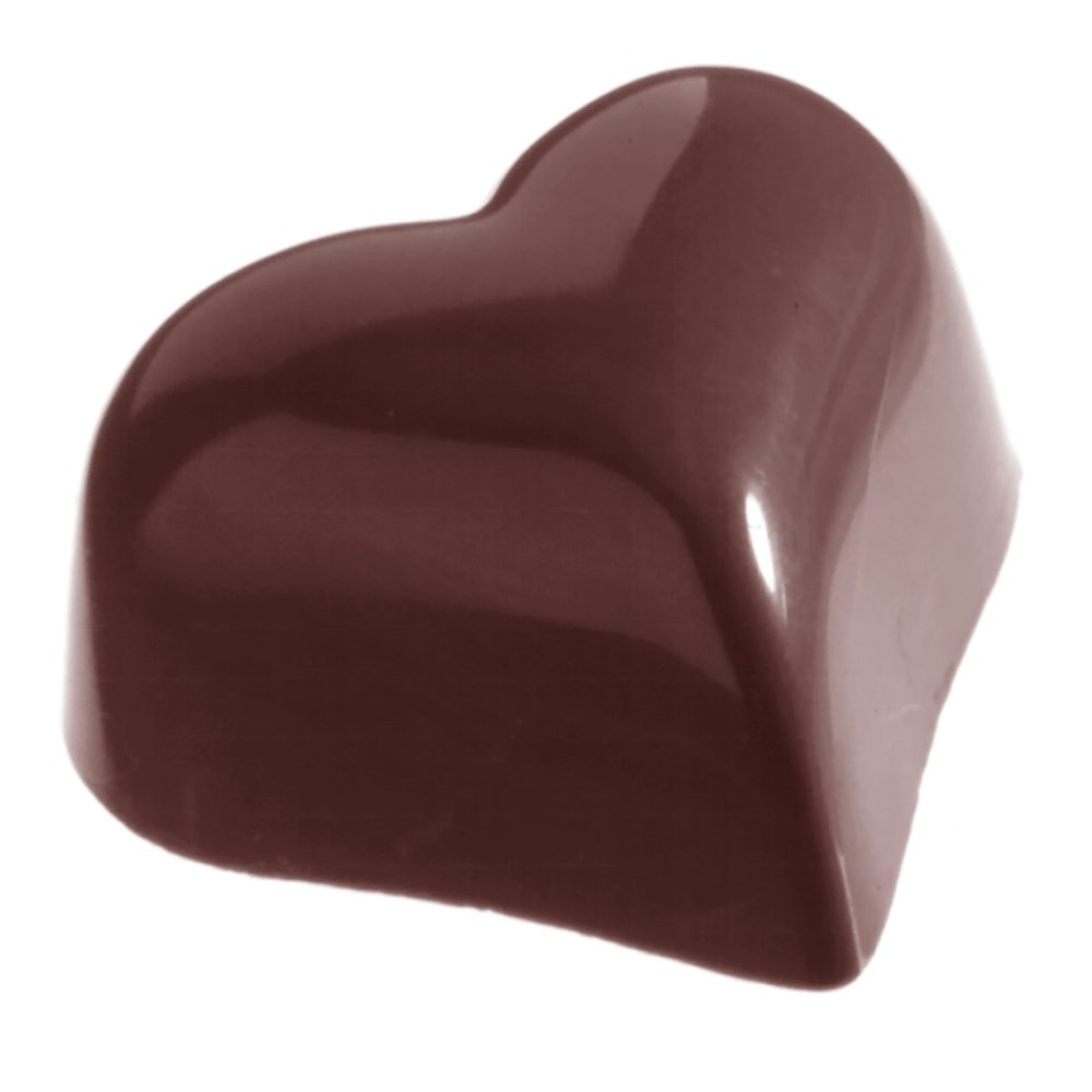 Chocolate Mould - Small Puffy Heart