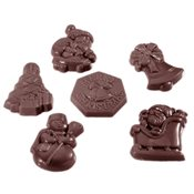 additional image for Chocolate Mould - Charique Christmas Garnish