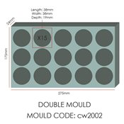 additional image for Chocolate Mould - Sphere 38mm
