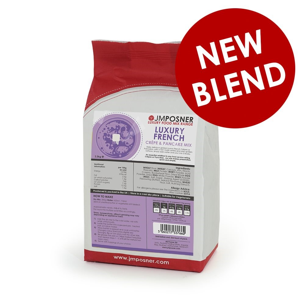 NEW - Luxury French Crepe and Pancake Mix