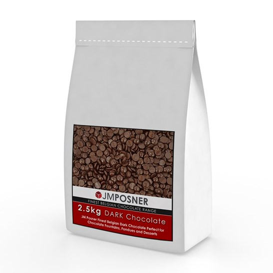 additional image for Luxury Belgian Dark Chocolate 2.5 kg bag
