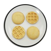additional image for Multi Waffle Plate - Burger Bun