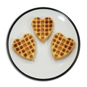 additional image for Multi Waffle Plate - Heart