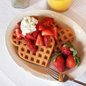 additional image for 2.3kg Luxury Egg Free Waffle Mix