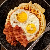 additional image for Luxury Belgian Style Waffle Mix - 1kg Bag