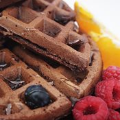 additional image for Chocolate Waffle Mix with added Chocolate Bursts