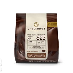 View Callebaut Finest Belgian Milk Chocolate - 400g pouch