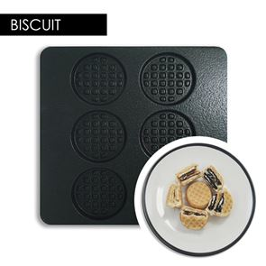 Multi Waffle Plate - Biscuit