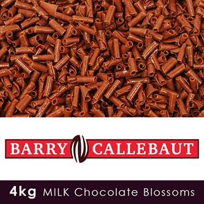 Barry Callebaut - Milk Chocolate Blossoms - 4kg Case