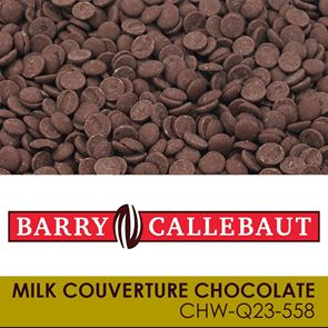 Barry Callebaut - Milk Couverture Chocolate - 10kg