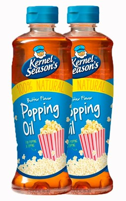 Kernel Seasons Butter Flavour Popping Oil x 2