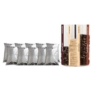 The Choco Burger Refill Kit - 10kg Bun Mix and 120 Choco Burgers