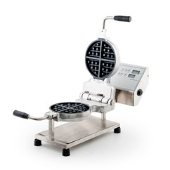 Round Belgian Waffle Maker with Auto Start