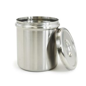 Optional Stainless Steel Insert Jar and Lid for Pump Dispenser