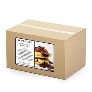 LIQUID CHOCOLATE SAMPLE PACK - 400g Tubs