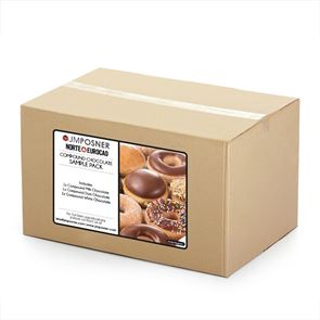 COMPOUND CHOCOLATE SAMPLE PACK - 300g Tubs